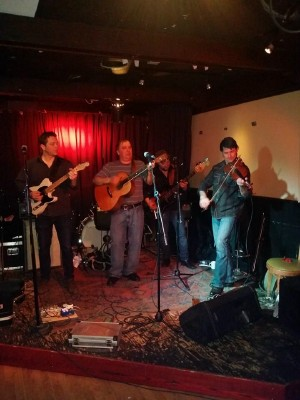 AS Leon Gallant and Billy McInnis Band at Sisters Club Mar152014
