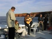 Entertaining On-board Earl MacLeod's Fishing Boat in the Gulf of St. Lawrence