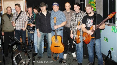AS Roadhouse Boys and Leon Gallant Band at Cavens Alley Mar192014